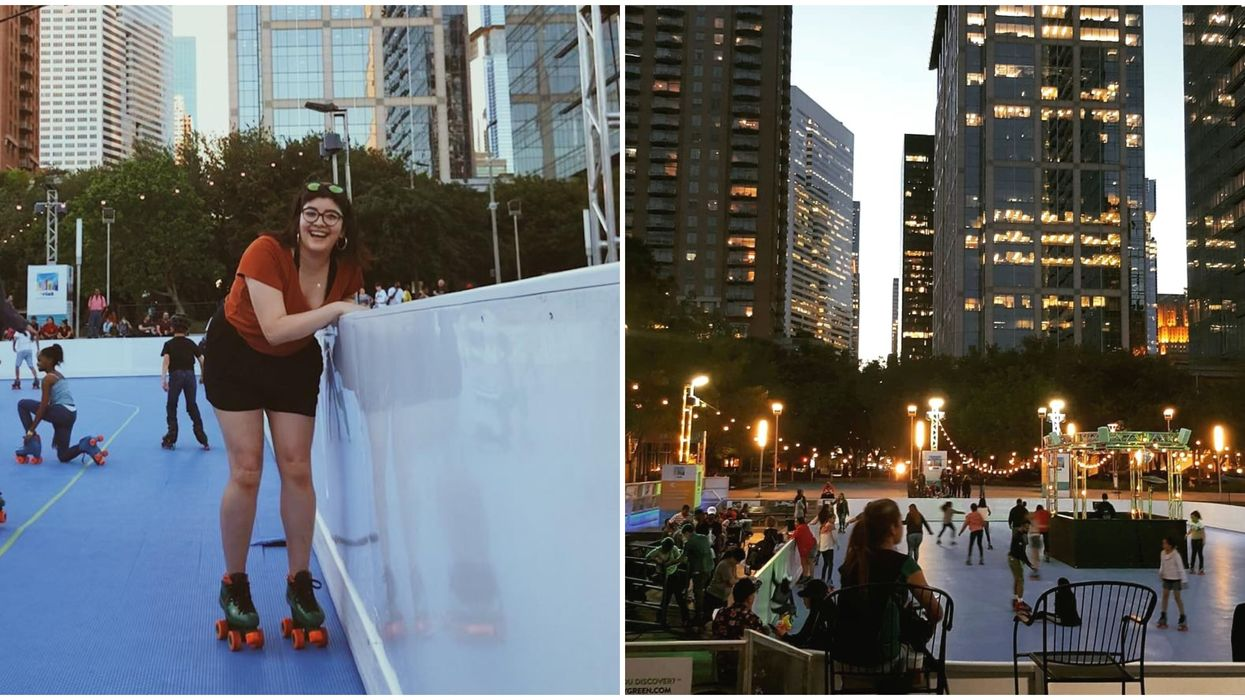 Roller Skate In Downtown Houston This Spring For Cheap