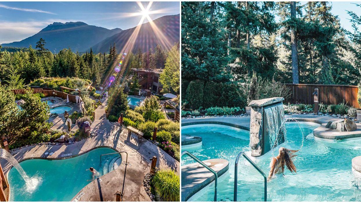 Scandinavian Spa In Whistler Is Back Open This Week & It's Breathtaking
