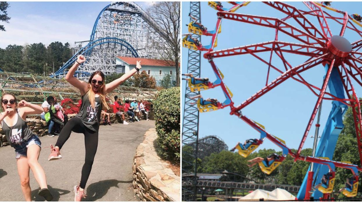 Six Flags Over Georgia Opens This Weekend With Two New Rides