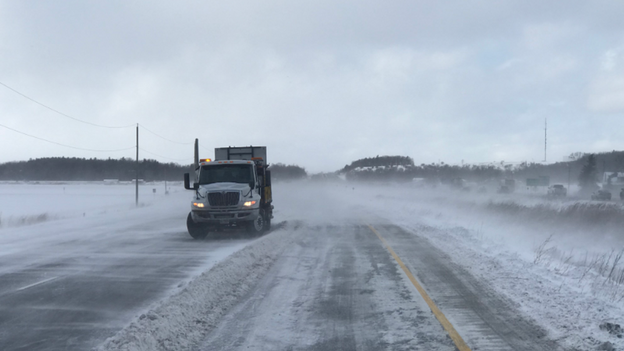 """Snow Squall Warnings In Ontario Are Leading To  """"Life-Threatening Travel Conditions"""""""