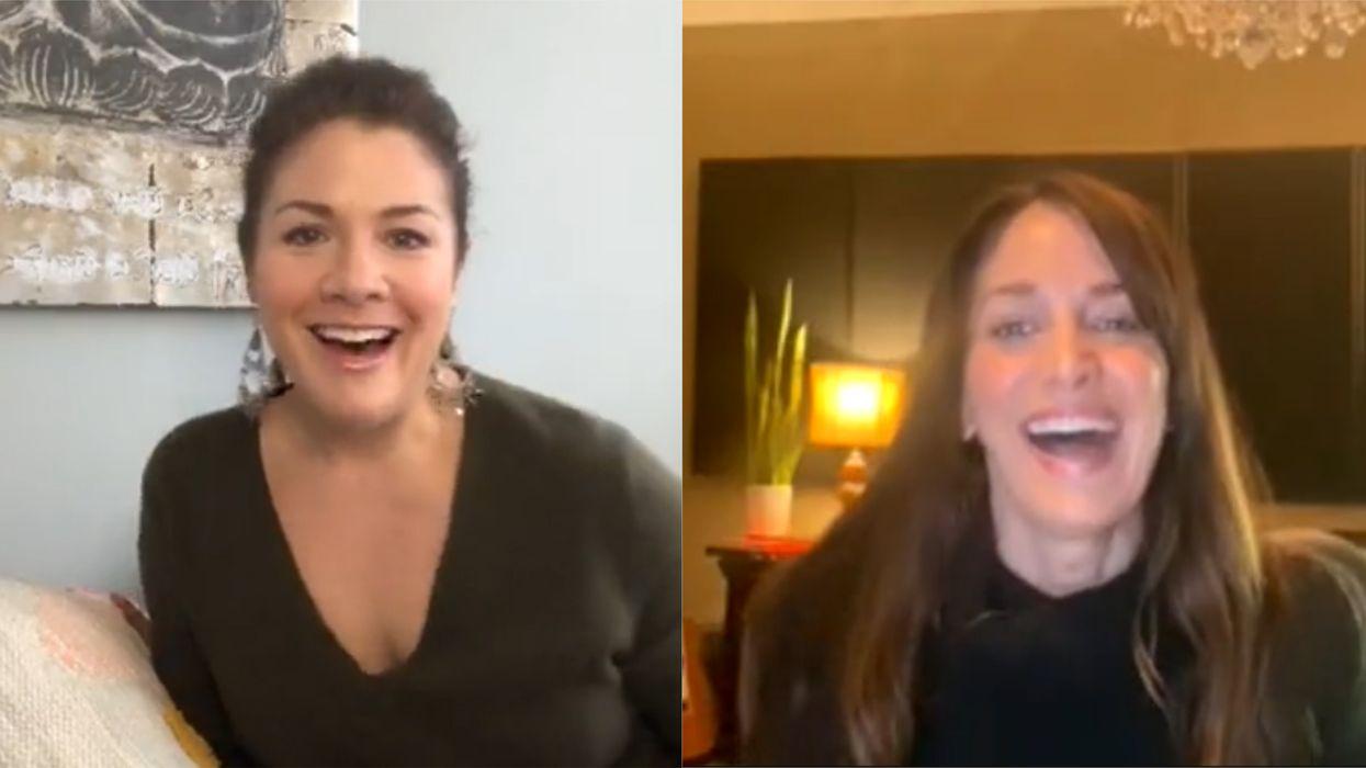 Sophie Grégoire Trudeau's Instagram Live With Chantal Kreviazuk Showed Their Friendship