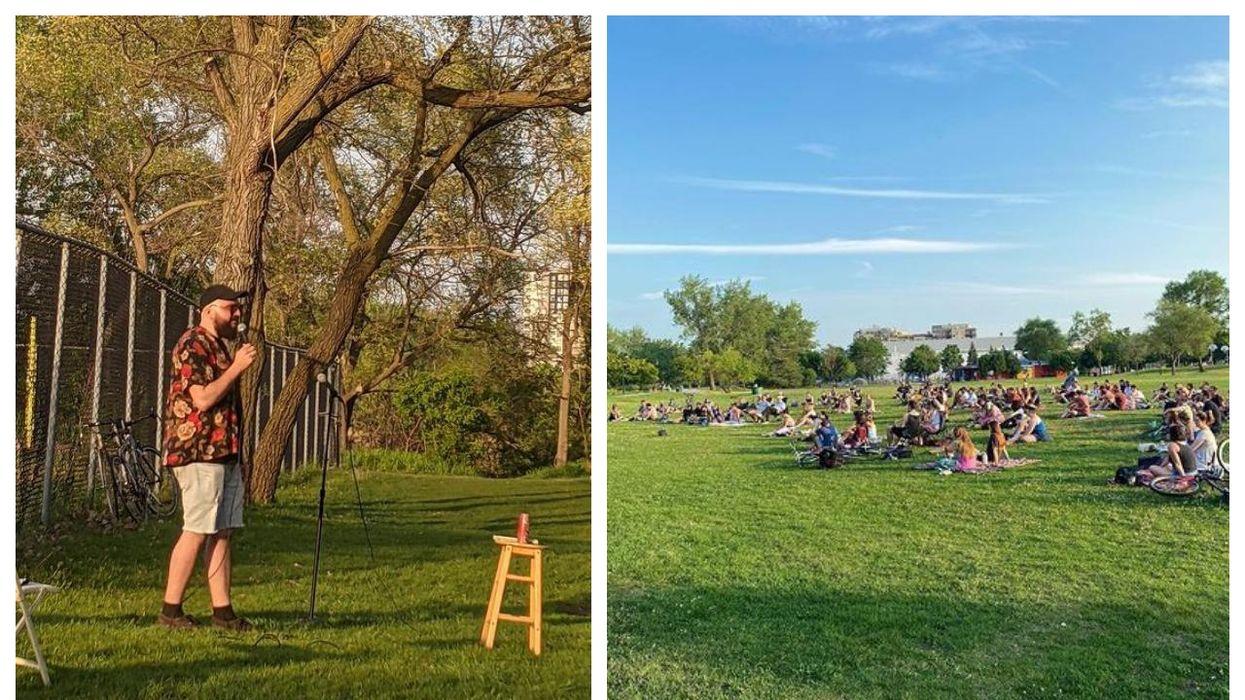 Spectacle d'humour gratuits dans 5 parcs de Montréal tout l'été