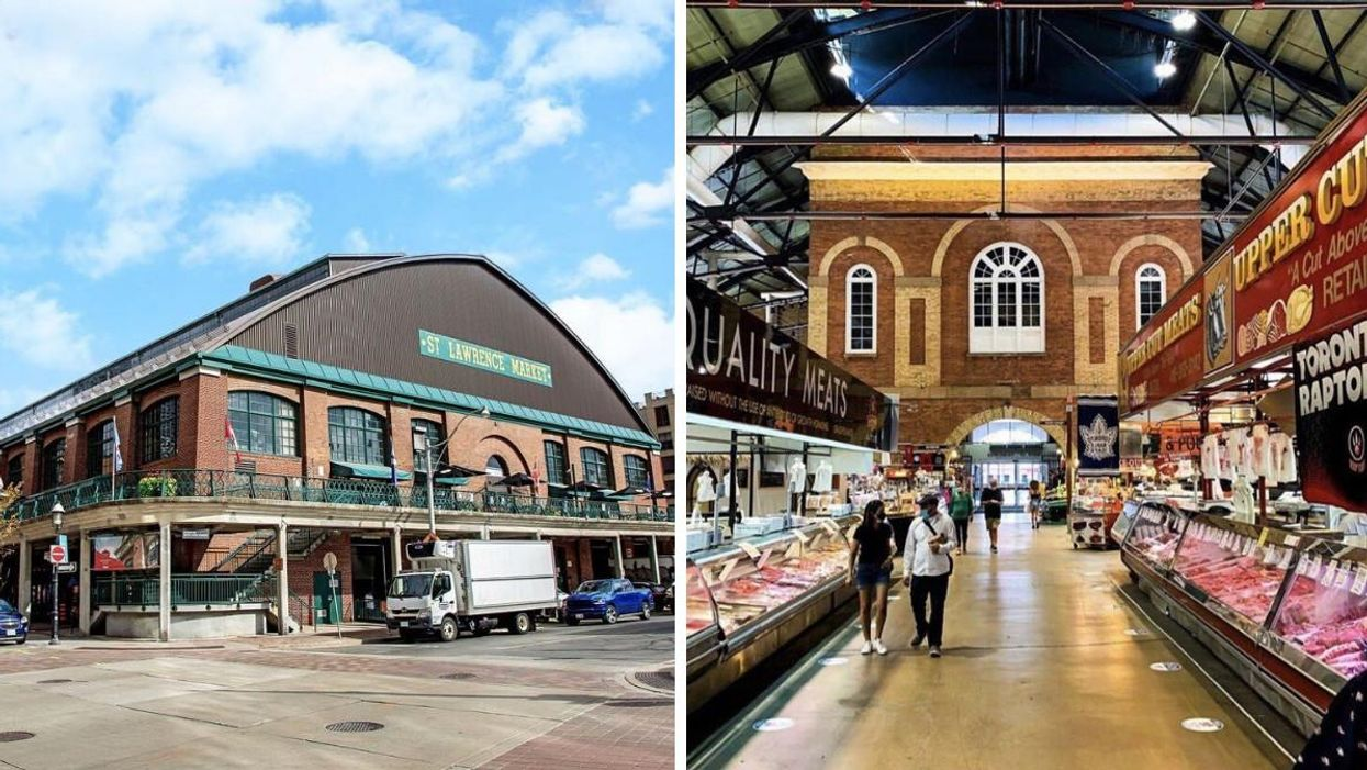 St. Lawrence Market Cancels Indoor Dining Over Proof Of Vaccination