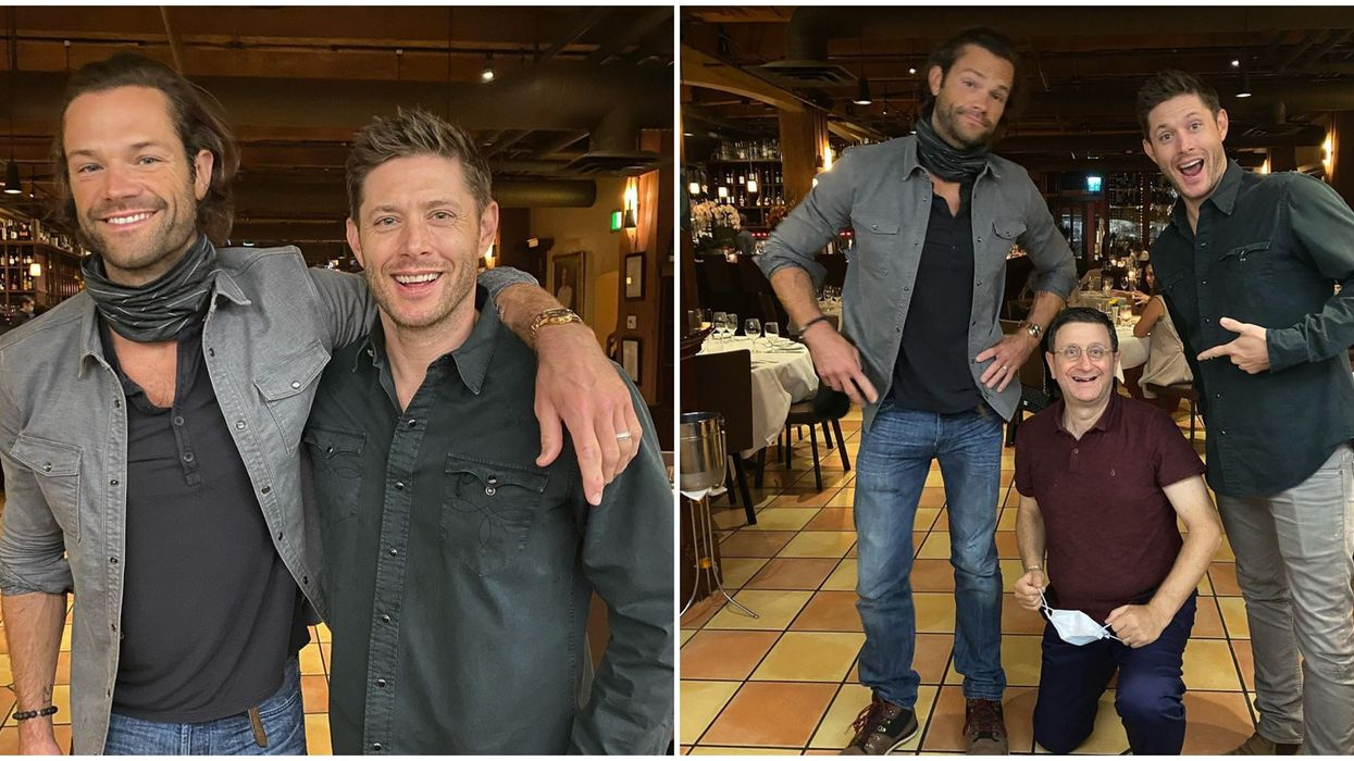 'Supernatural' Stars In Yaletown Vancouver Were At This Italian Restaurant