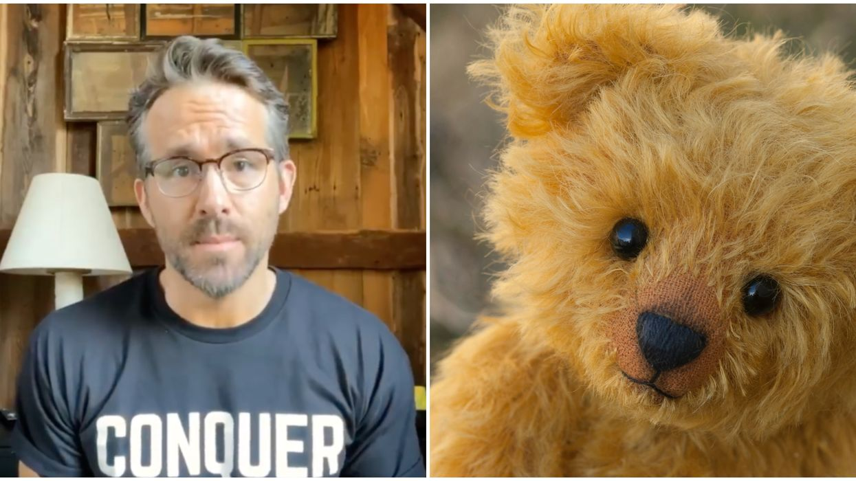Teddy Bear: Ryan Reynolds Is Donating $5K To Help Find A Unique Toy