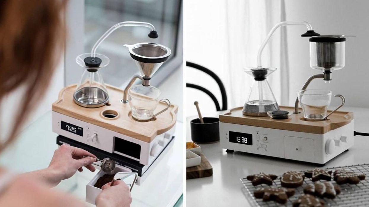 The Barisieur Coffee Alarm Clock Is Splurge-Worthy & Available In Canada