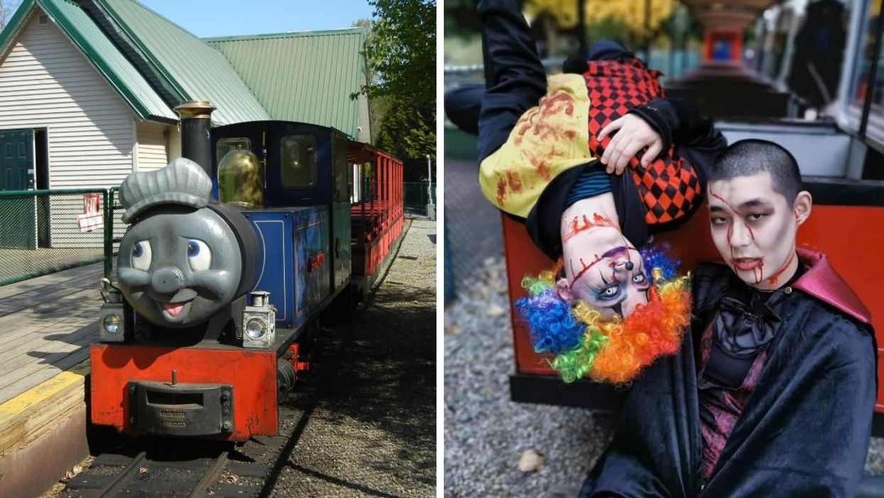 The Bear Creek Halloween Train In Vancouver Goes From Cute To Terrifying Real Quick