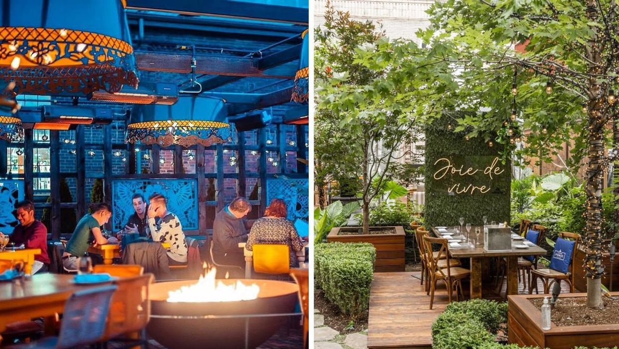 The Best Restaurants In Canada For Outdoor Dining Got Ranked & Their Patios Are Next Level