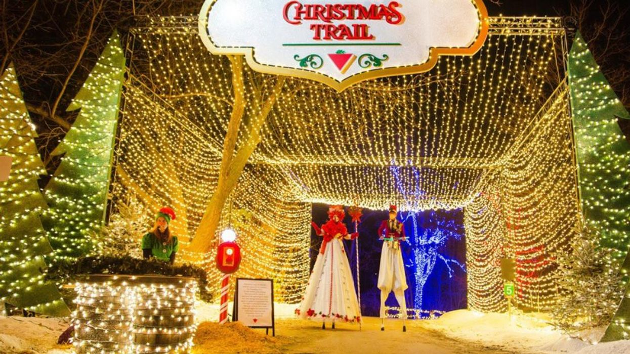 The Canadian Tire Christmas Trail Is Returning To Toronto With Even More Magic This Year