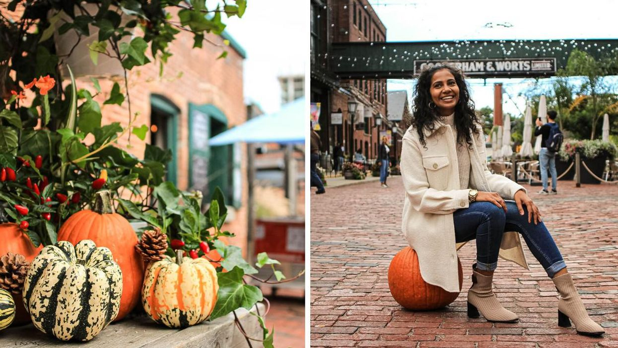 The Distillery District Is Getting A Fall Market With Pumpkins & Tons Of Sweet Treats