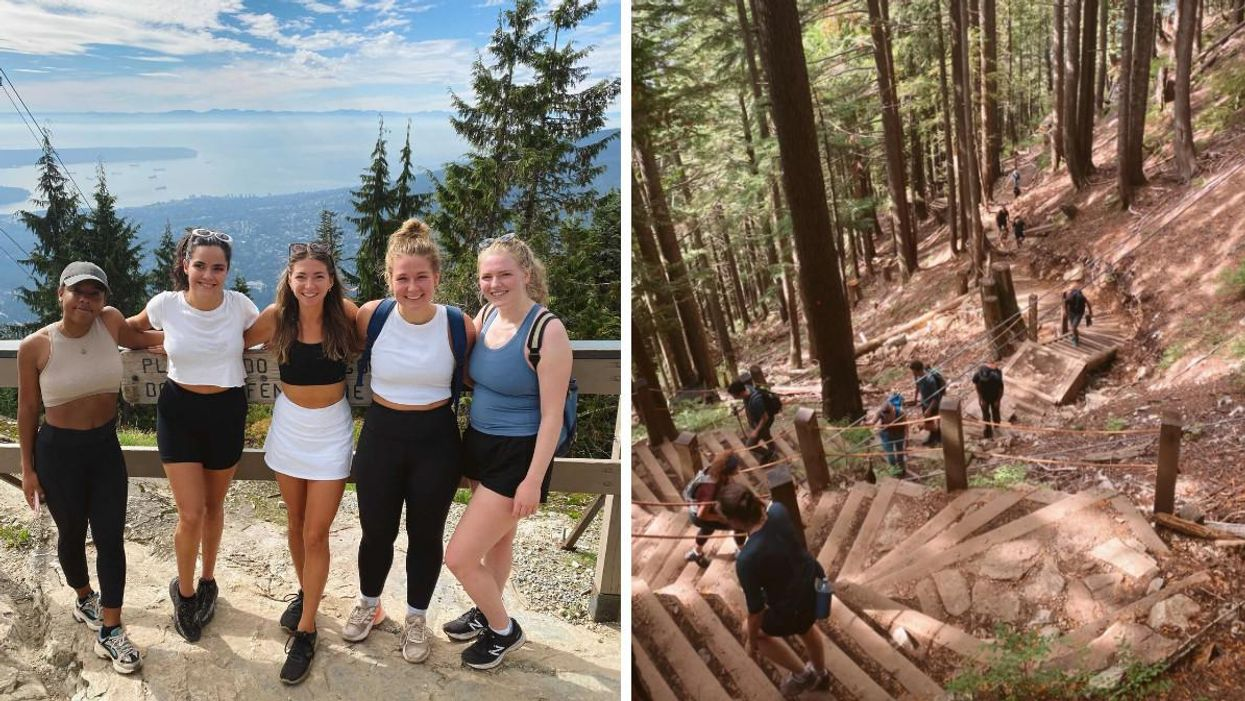 The Grouse Grind Hike Is Like Climbing A Staircase Up To The Clouds In BC (PHOTOS)