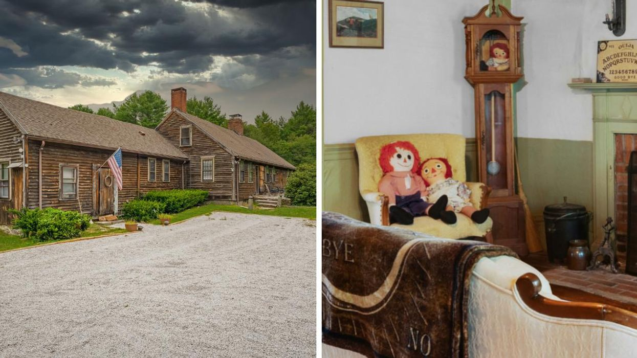 The Real 'Conjuring' House Is For Sale At $1.2 Million But The Ghost Is Free (PHOTOS)