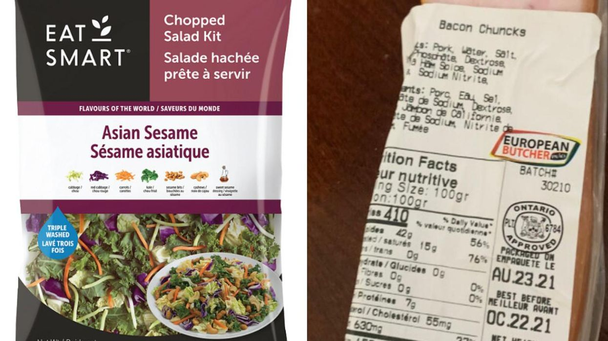 There Have Been More Food Recalls In Canada & You Might Want To Toss These 4 Items