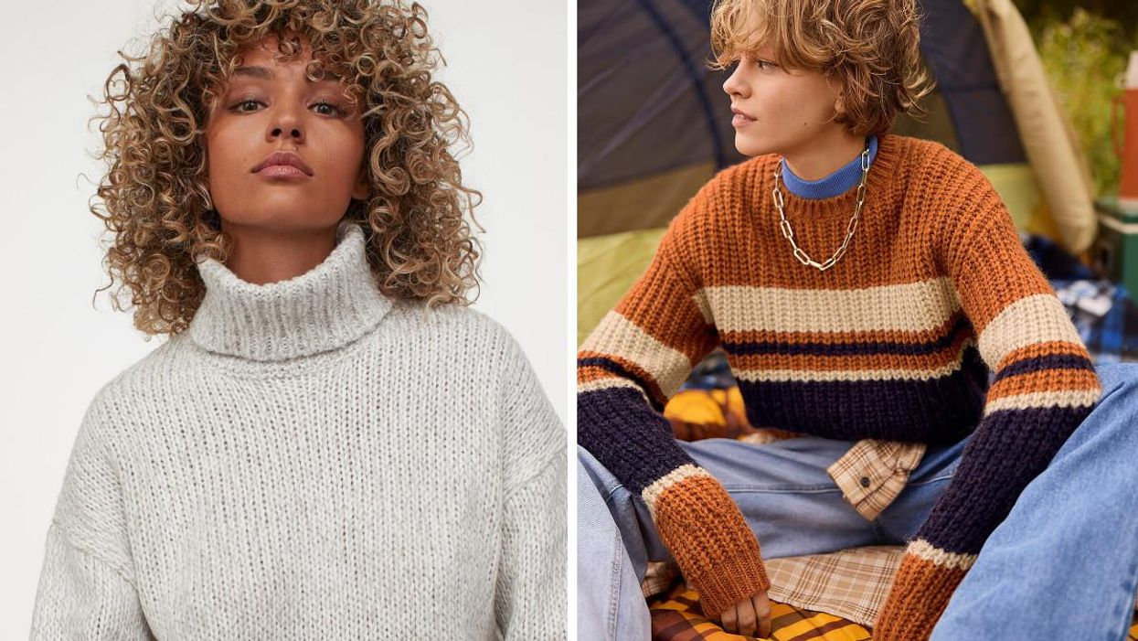 These 24 Cozy Knit Sweaters Will Make You Feel Snug As A Bug This Autumn In Canada