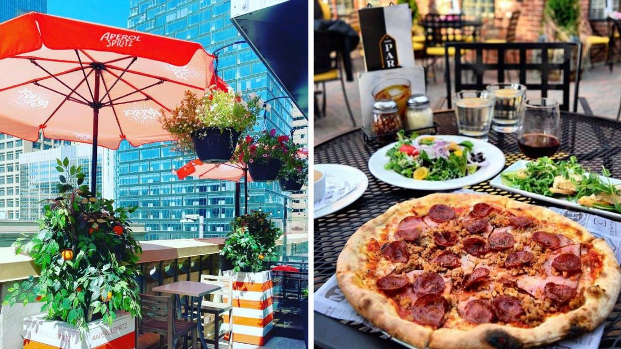 These 5 Alberta Restaurants Were Rated As Some Of The Top Outdoor Dining Spots In Canada