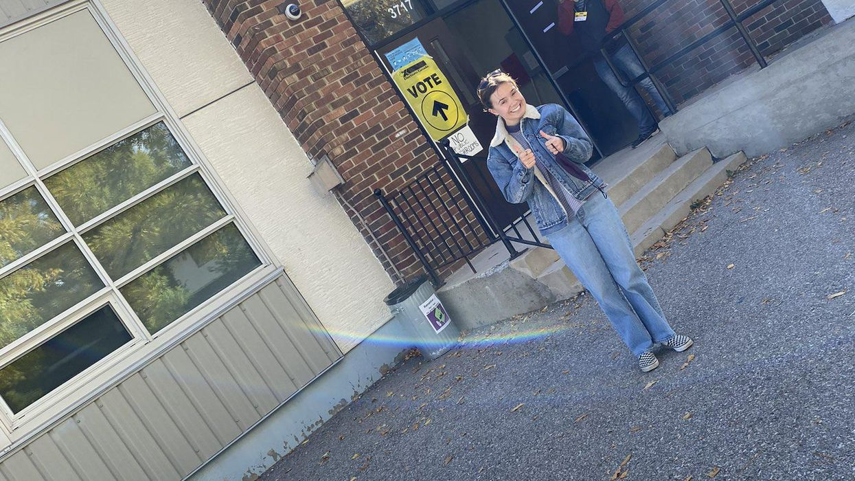 These 7 First-Time Voter Photos Will Make You Proud To Be Canadian