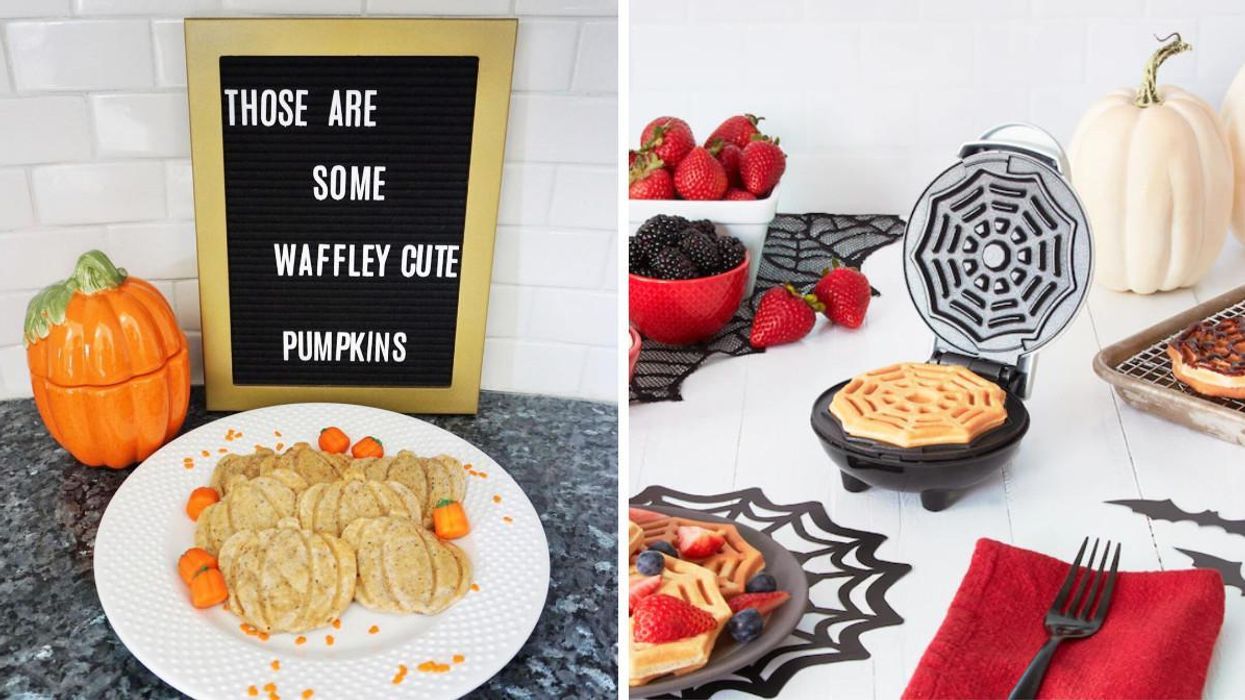 These Halloween Waffle Makers Are Too Cute To Handle & You Can Get Them At Indigo For Under $25