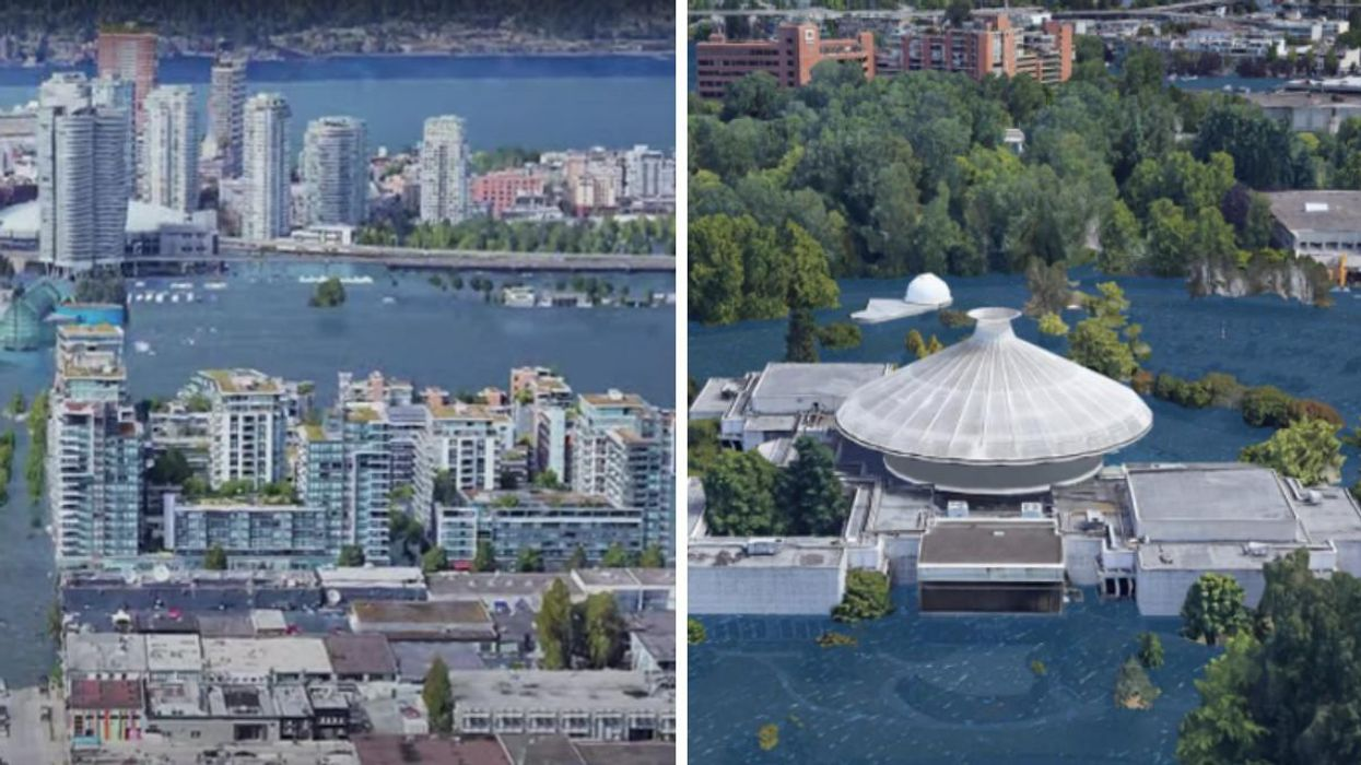 These Photos Show Vancouver If Sea Levels Rise & You Don't Want To Be Living In These Areas