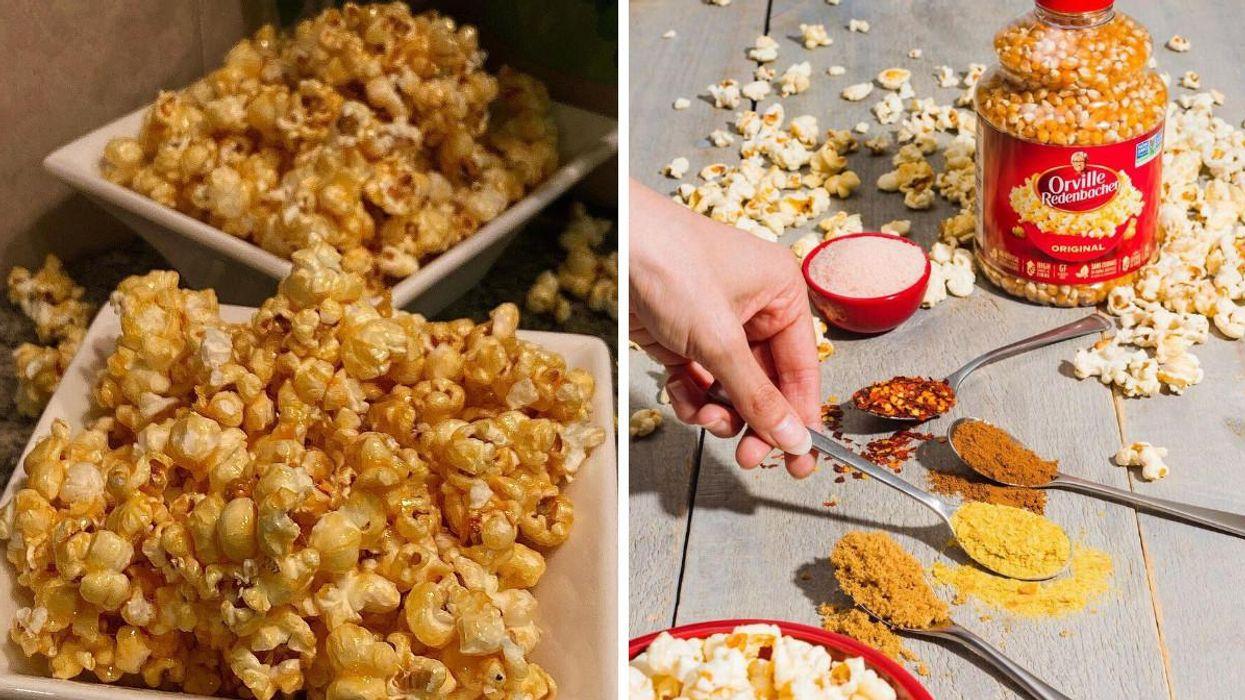 These TikTok Recipes With Popcorn Will Seriously Upgrade Your Next Movie Night