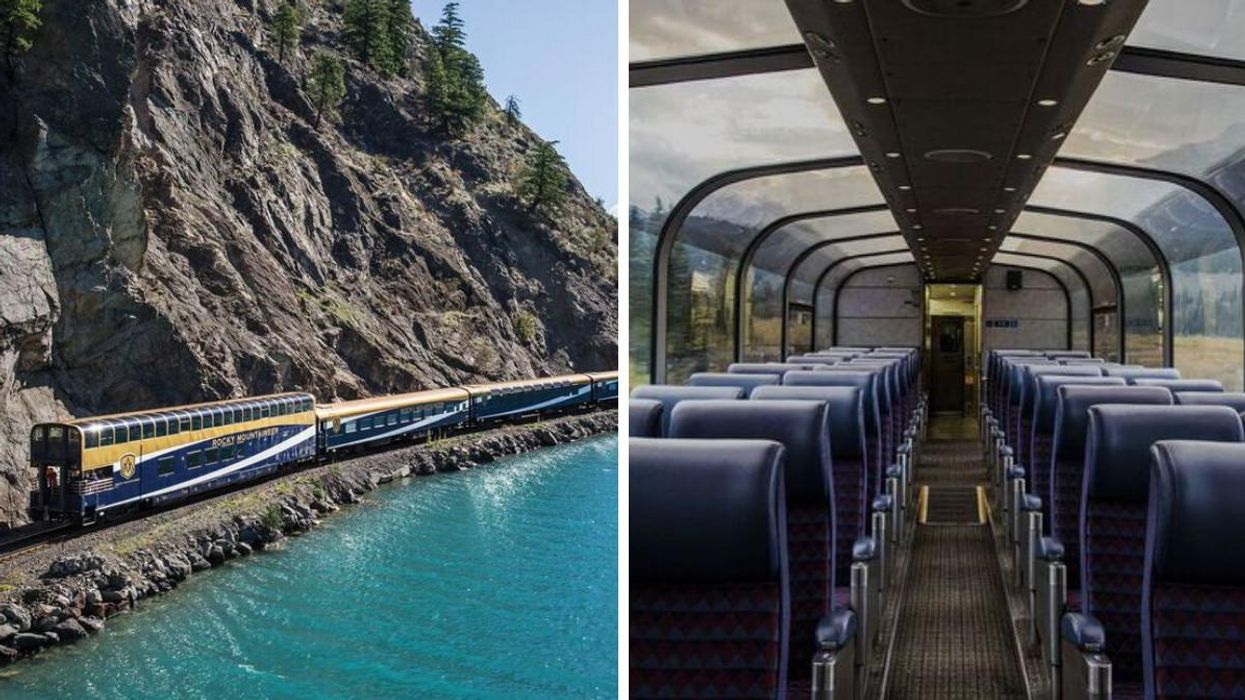 These Two Canadian Train Trips Were Just Named Among The World's Most IG-Worthy Routes