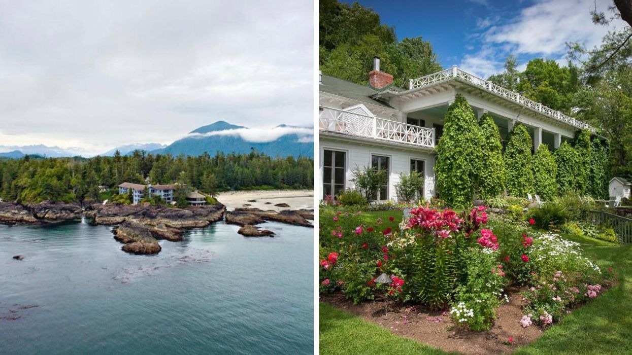 These Two Stunning Canadian Hotels Cracked A List Of The 100 Best Stays In The World