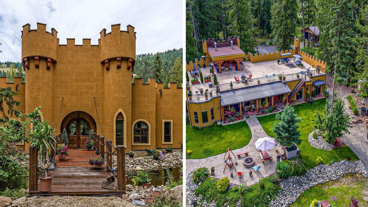 This Castle For Sale In BC Is Right Out Of A Fairytale & It Even Has A Drawbridge