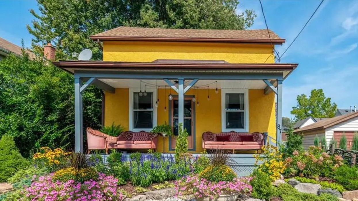 This Cute House For Sale In Ontario Is Straight Off An English Postcard & Costs Just $350K