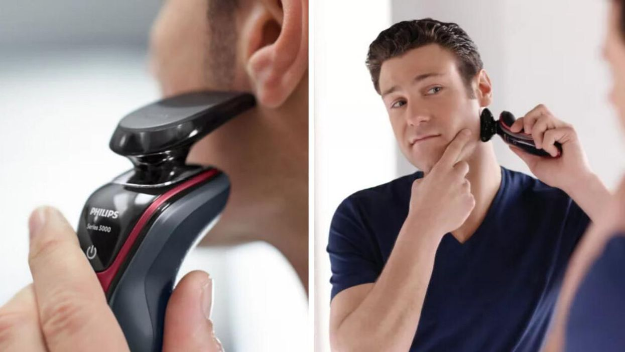 This Electric Shaver At Canadian Tire Is Over 50% Off & It's Going Straight Into My Cart