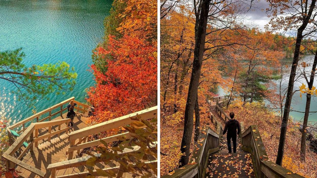 This Gatineau Park Trail Near Ottawa Takes You To A Breathtaking Fall Paradise