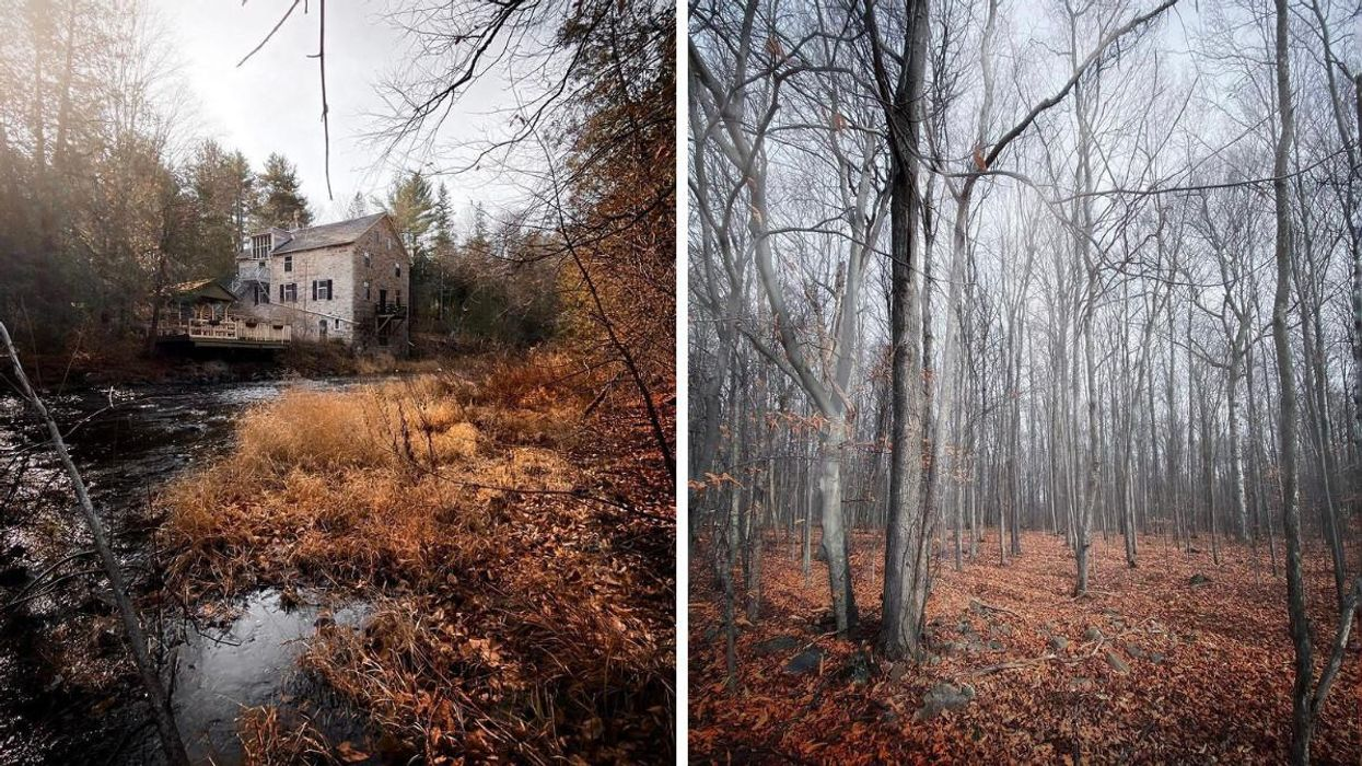 This Ghost Tour Near Ottawa Takes You Through A Haunted Mill & Creepy Cabin In The Woods