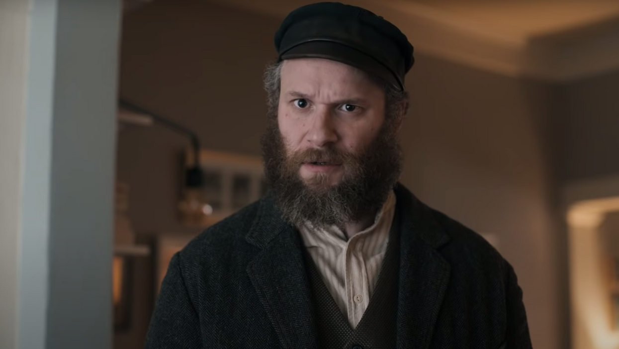 This is quite the pickle! Seth Rogen's An American Picklesees him get preserved in salty brine and wake up 100 years later in a completely changed world. The upcoming comedy looks to take viewers on a hilarious ride as the Canadian plays double duty characters.