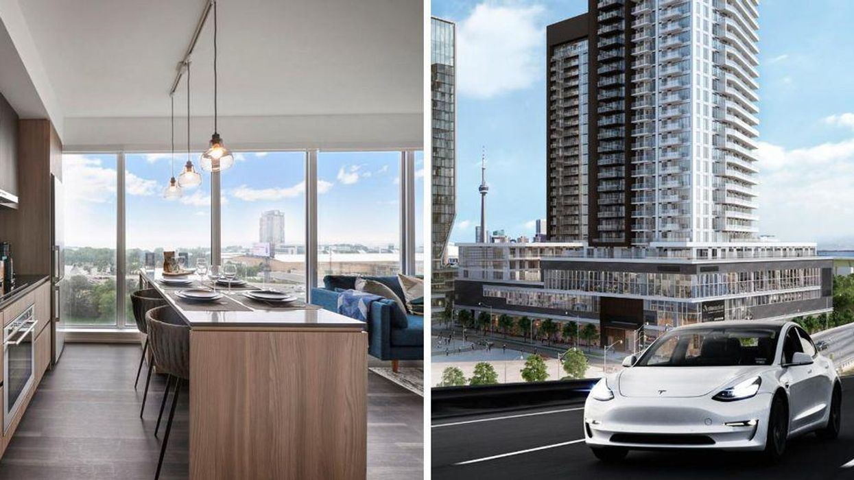 This New Liberty Village Rental Property Is Giving Away A Free Tesla & It Could Be Yours