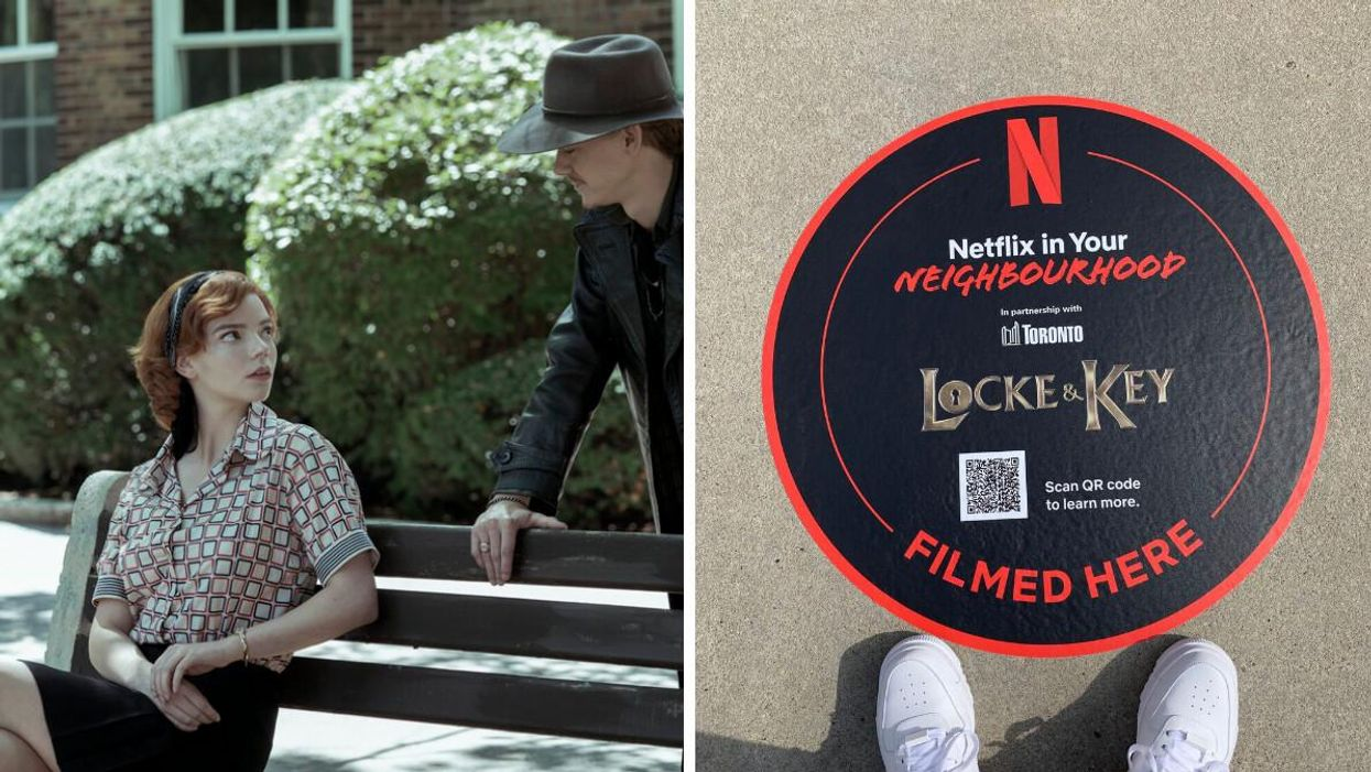 This New Netflix Map Reveals Where All Your Favourite Shows & Movies Were Filmed In Canada