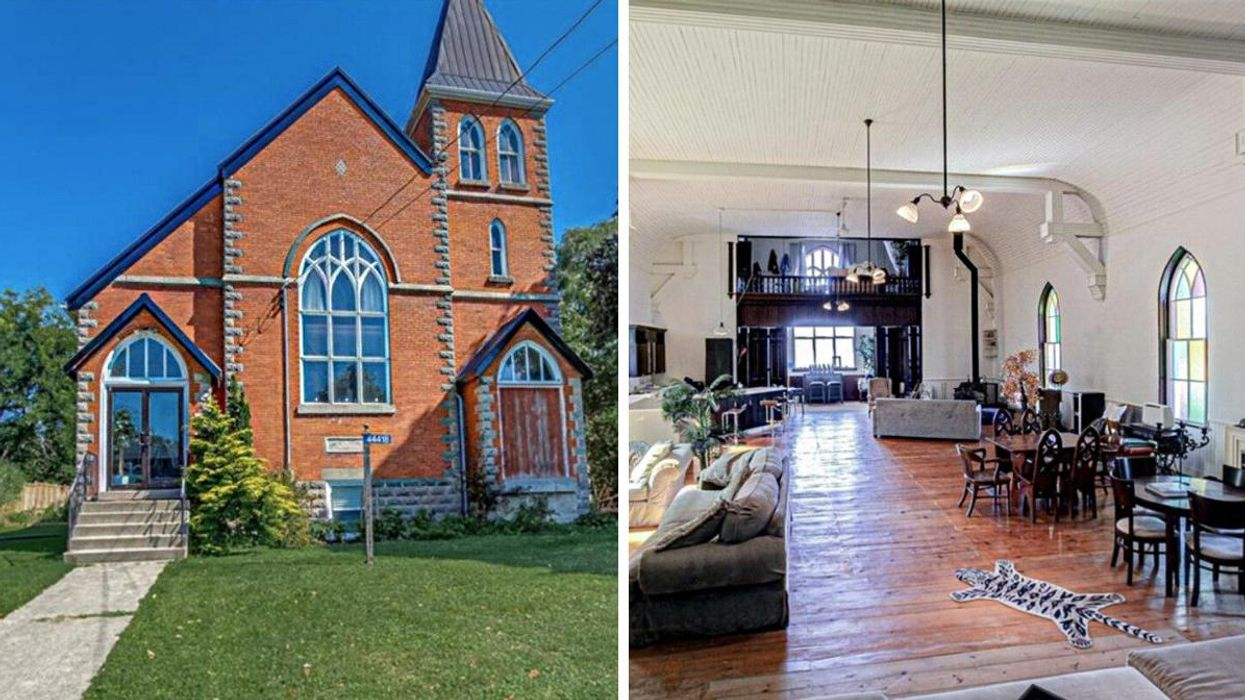This Ontario Church Has Been Transformed Into A Massive Home & Costs Under $600K