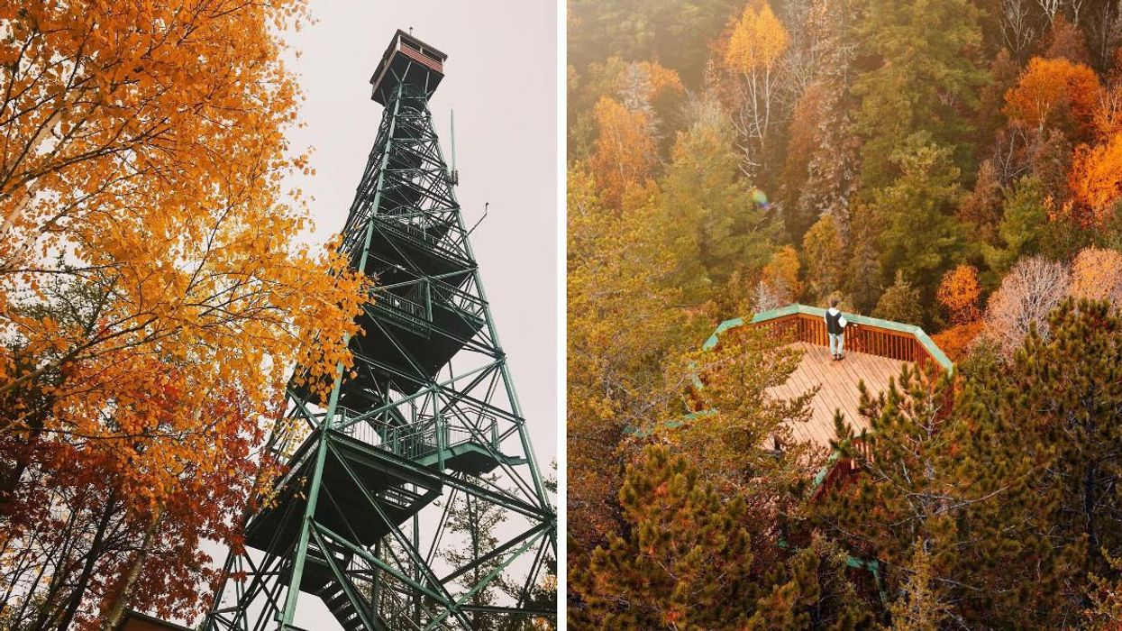This Ontario Hike Will Take You To A 100-Foot Tall Tower With Jaw-Dropping Lookouts
