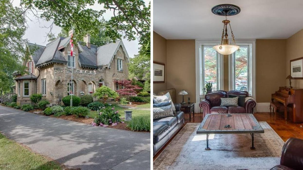 This Ontario Home Is A Mini Scottish Castle & Is Actually Selling For Under $900K