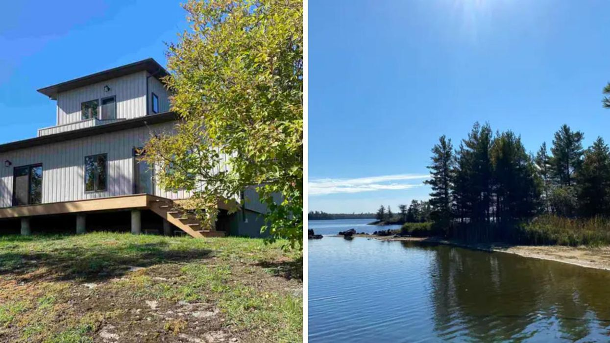 This Ontario Home Selling For $850K Has Stunning Lake Views & Your Own Mini Observatory