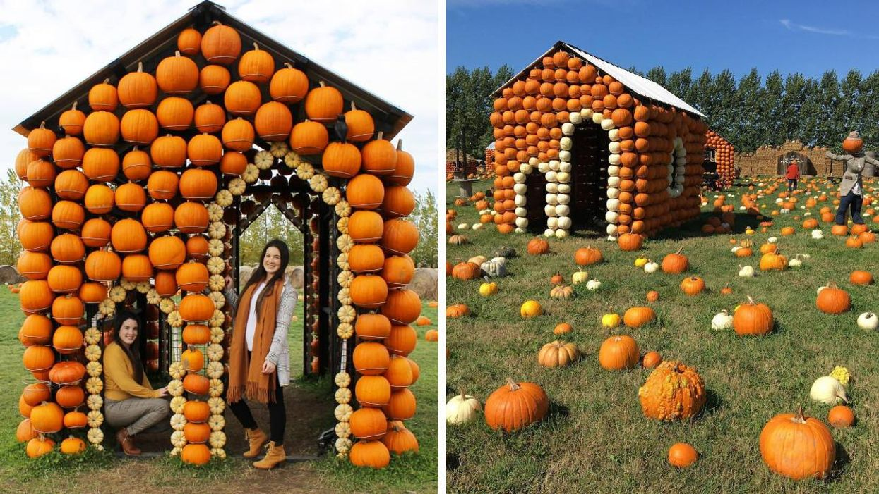 This Pumpkin Village Near Ottawa Will Make You Feel Like You've Stepped Into A Fairytale