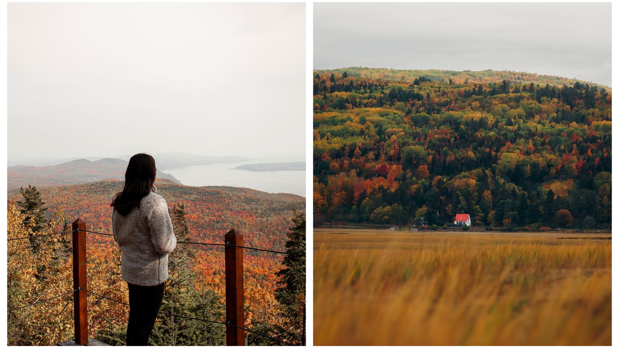 This Quebec Region Turns Into A Sea Of Colours Every Fall & Here's How You Can Experience It