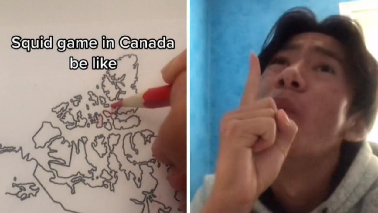 This 'Squid Game' TikTok Shows How It Would Be The Most Canadian Challenge Ever