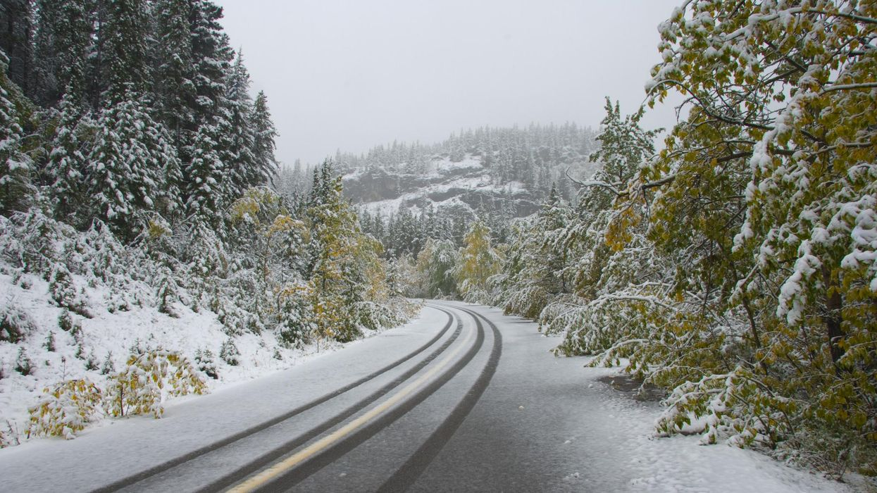 This Thanksgiving Long Weekend Is About To Get Super Snowy For Parts Of BC & Alberta