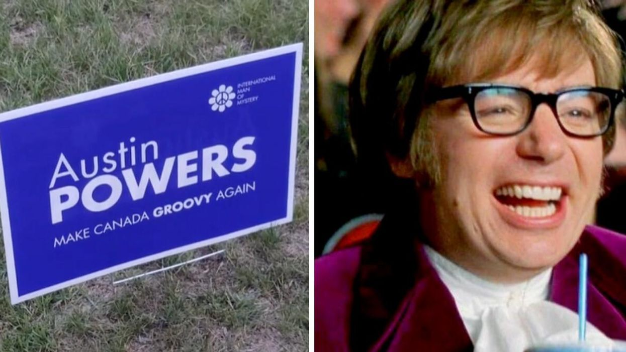 This TikTok Might Have You Believing Austin Powers Is Running In The Federal Election