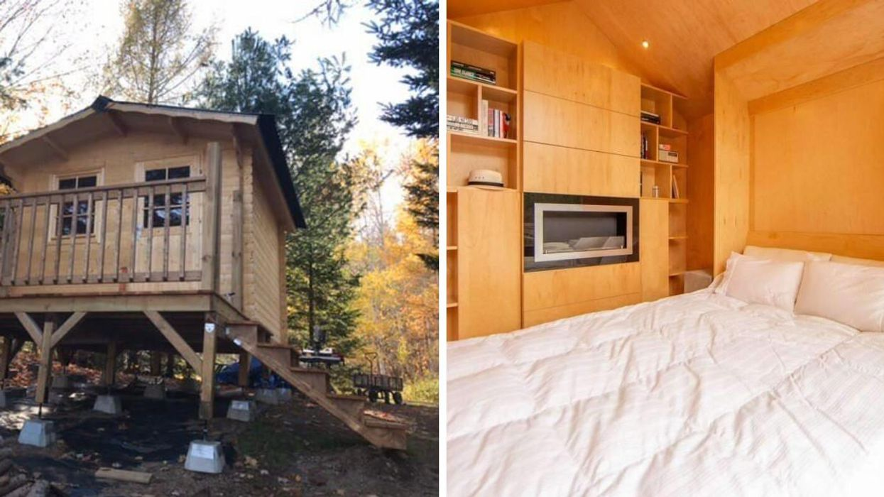 This Tiny House For Sale In Ontario Is Only $50k & It's Super Cozy