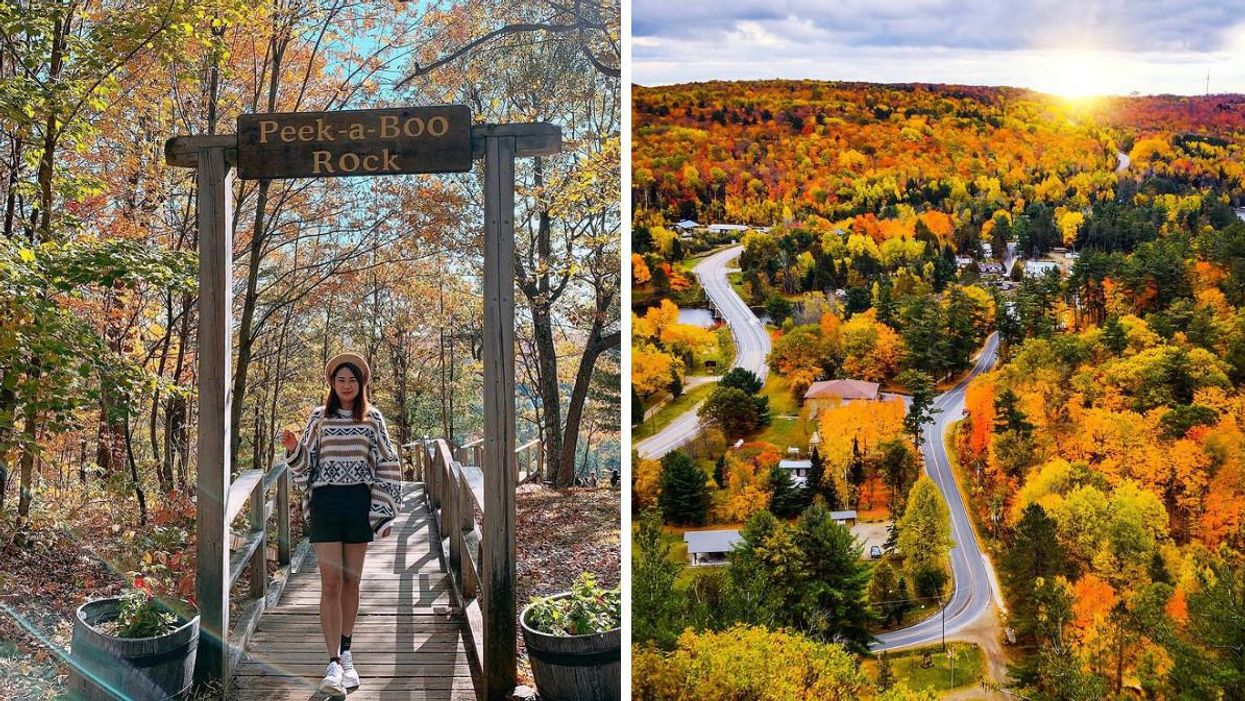 This Tiny Village In Ontario Will Make You Feel Like You're On An Autumn Trip To Vermont