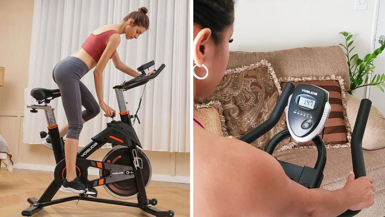 This Top-Rated Exercise Bike On Amazon Canada Is Seriously On Sale Right Now