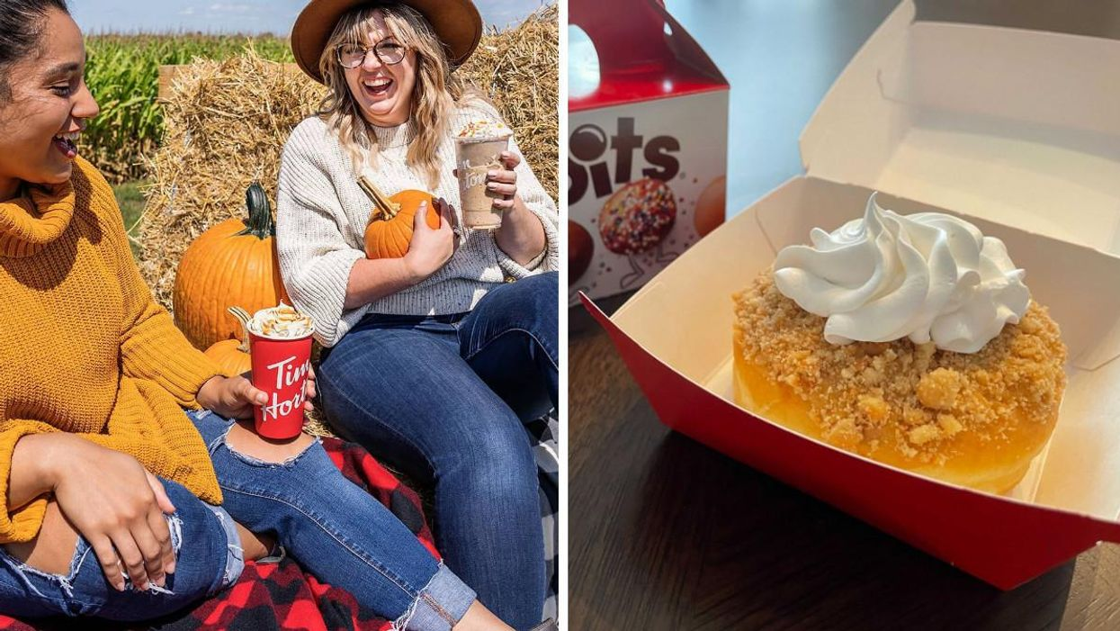 Tim Hortons Fall Menu For 2021 Is Here With An Apple Pie Donut
