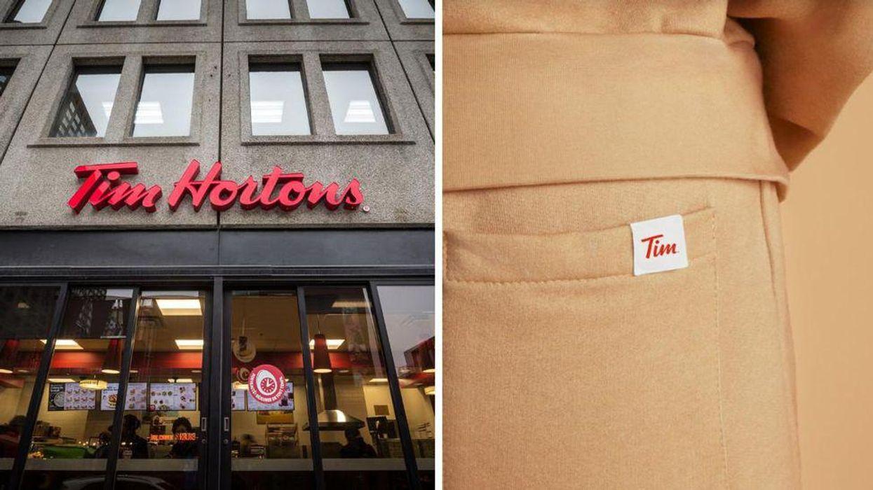 Tim Hortons lance ses propres vêtements et c'est la chose la plus canadienne « ever »