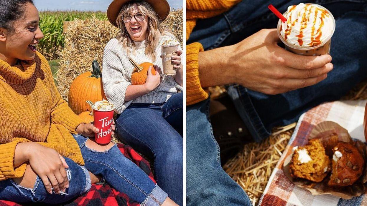 Tim Hortons sort son menu d'automne et ses boissons au pumpkin spice