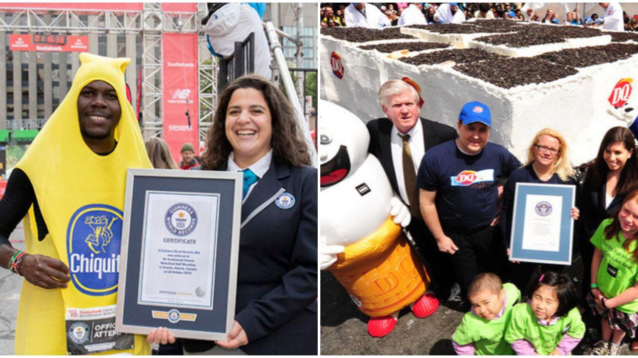 Toronto Guinness World Records That Were Super Impressive & Bizarre