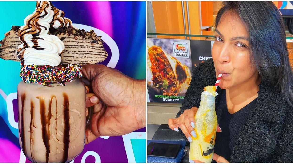 Toronto Ice Cream Spot Has Monstrous Milkshakes That Are An Actual Challenge To Eat